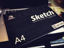 SKETCH A3 / A4 / A5  25 sheets / 150 GSM
